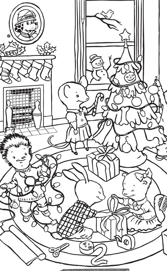 Hidden Holiday Picture Puzzle