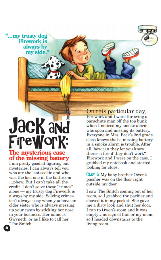 Jack and Firework Story