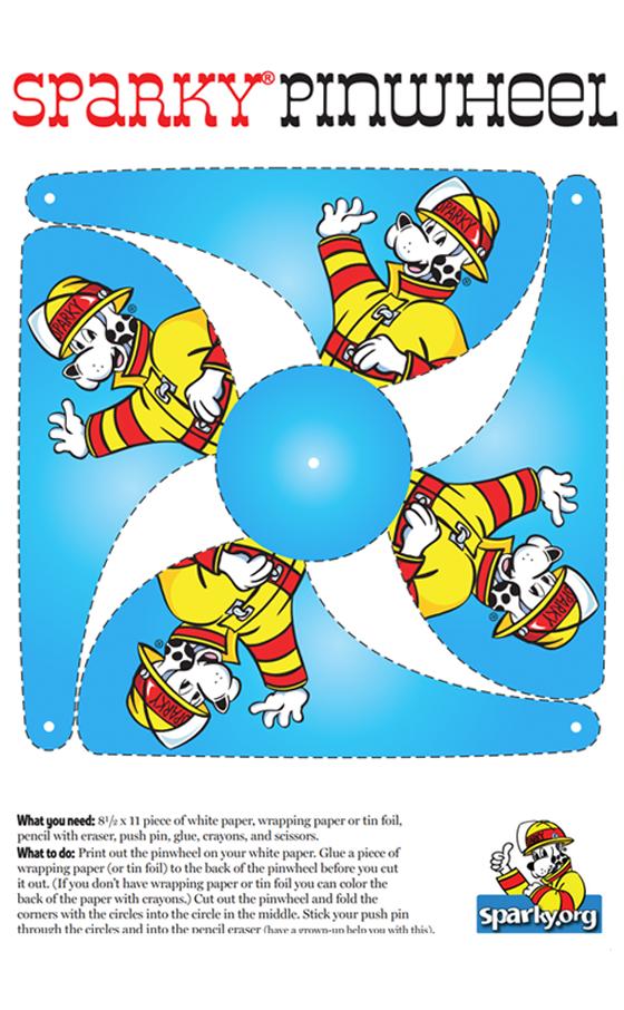 Sparky Pinwheel